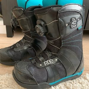 Shoes - RIDE Sage Boa Snowboard Boots